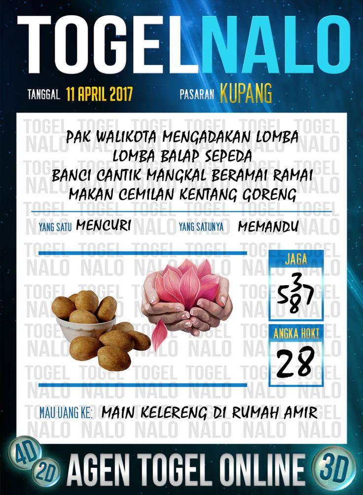 Angka Kuat 4D Togel Wap Online TogelNalo Kupang 11 April 2017