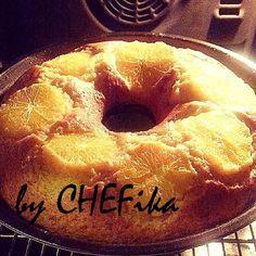 Bugün Star tv de Melek programı için advertorıal çekimimiz vardı.Çekim için Portakallı Kek yap...