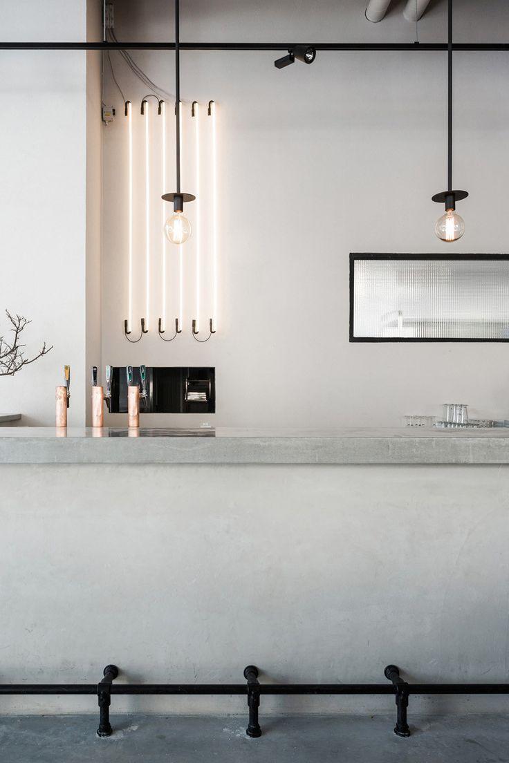 In design magz artistically interior modern coffee shop design by - Usine Coco Lapine Design Restaurant Interiorsrestaurant Designrestaurant Barhospitality Designstockholm Swedencoffee