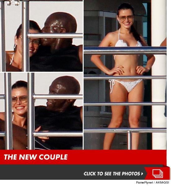 Seal's new girlfriend?