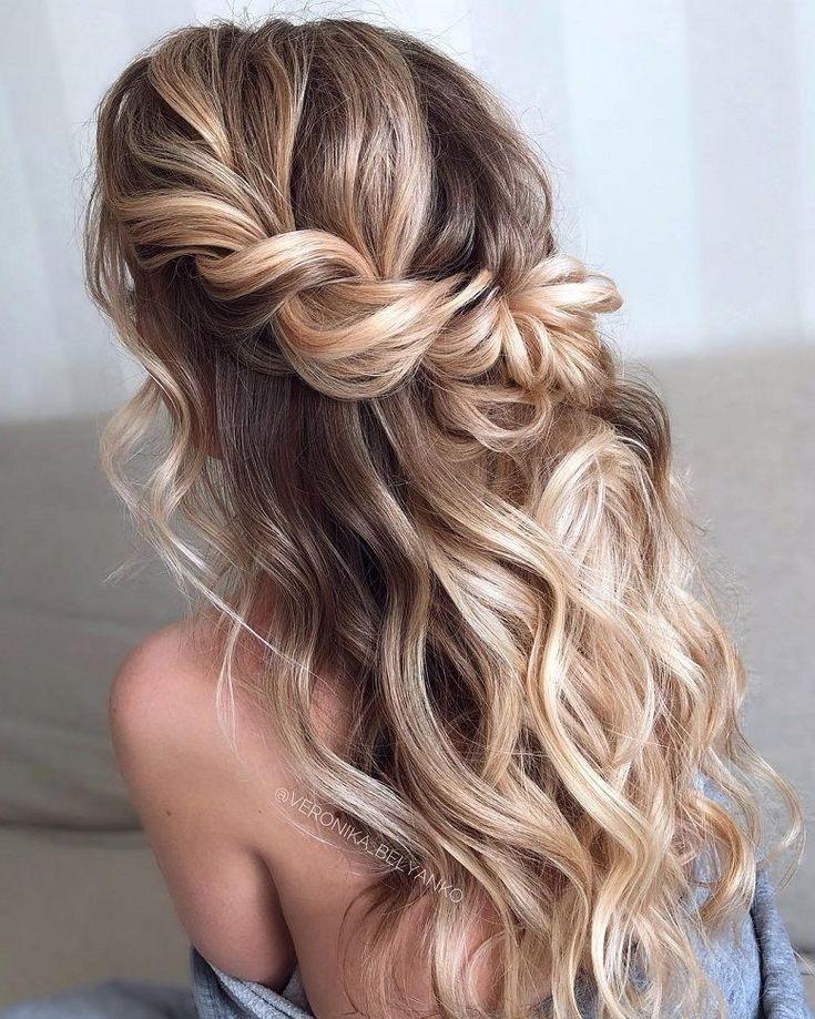 101 Boho Brautfrisuren für unbeschwerte Braut, schöne Boho Frisuren, Boho Ha …