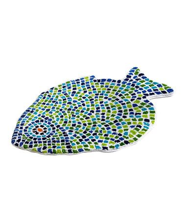 17 best images about my beach house on pinterest set of for Fish bath mat
