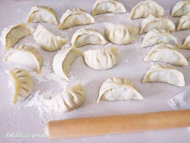 自製水餃皮&韭菜蝦皮雞蛋餃子