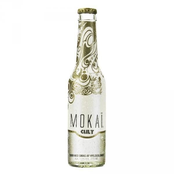 Mokai Cult Elderflower Cider 275ml