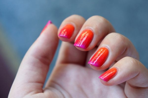 Trendy & edgy DIY ombre nails. Try them out this weekend! Visit Beauty.com for a variety of nail care and polish.