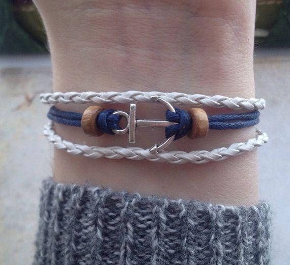Anchor Bracelet Pirate Bracelet Boho Bracelet by BohemianFantasy