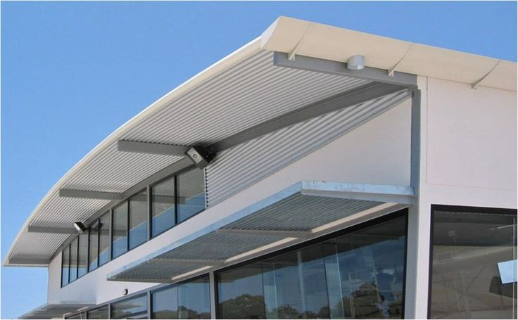 Ritek's large roofing spans suit commercial applications such as the showroom above.