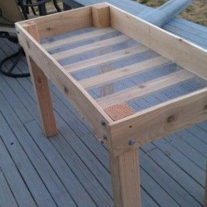 how to build a raised garden bed off the ground
