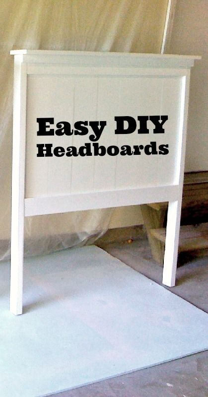 make your own headboard in one afternoon live green natural - Headboard Design Ideas