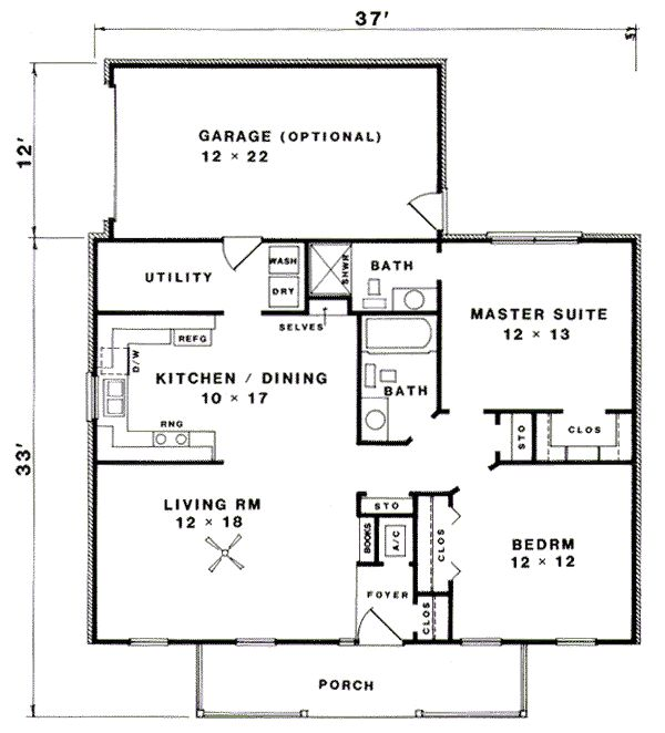 25 Best 20x50 Floor Plans Images On Pinterest Small