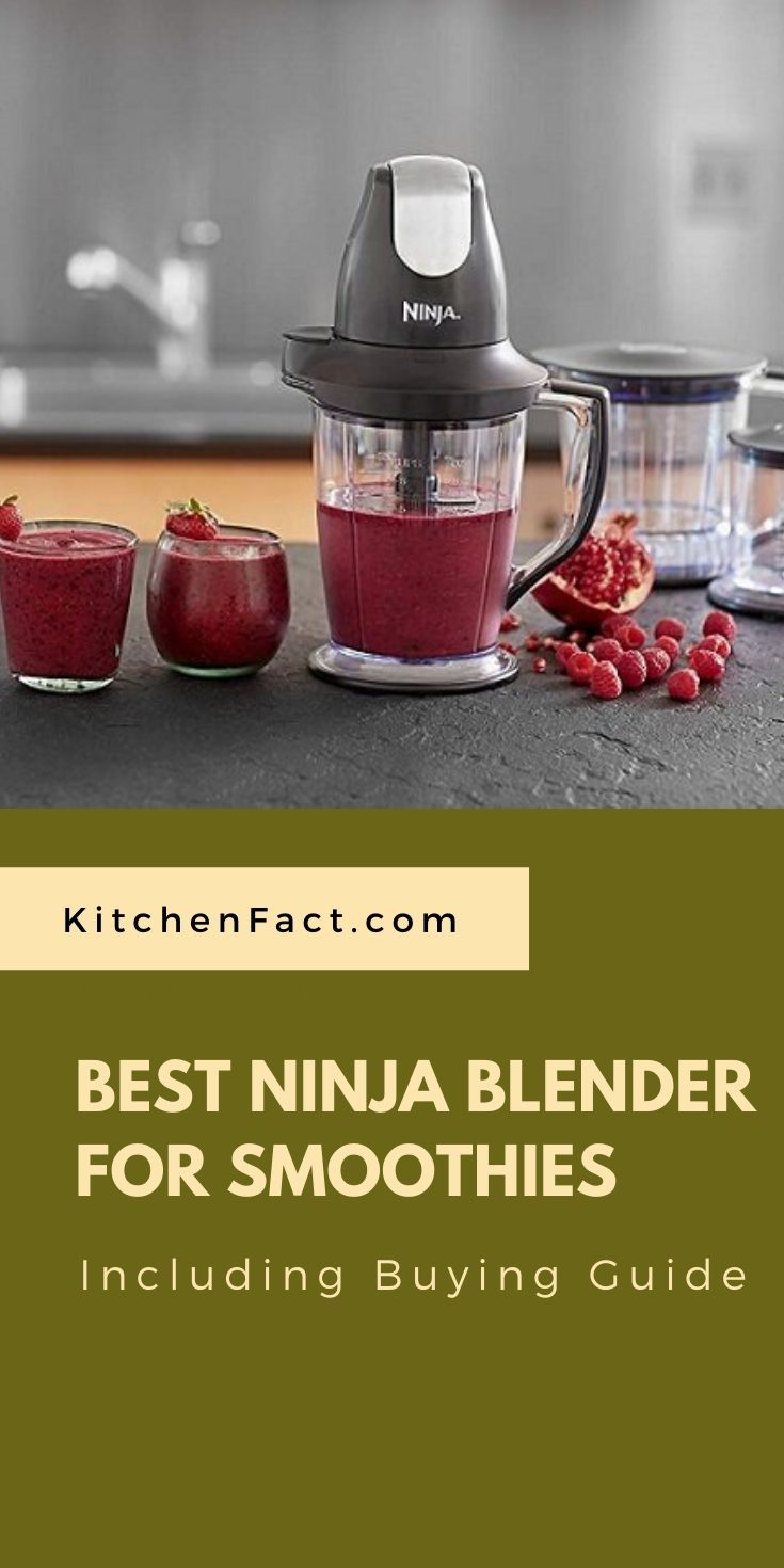 Best ninja blender for smoothies including buying guide in