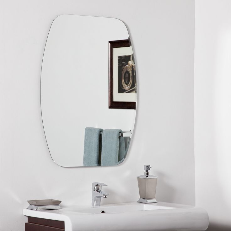 Shop Decor Wonderland Sydney Modern Bathroom Mirror At Lowes Canada Find Our Selection Of Mirrors The Lowest Price Guaranteed With Match