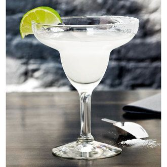Verre à cocktail margarita en verre transparent 27 cl Set de 6 MARGUERITA Durobor
