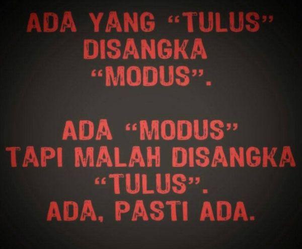 #modus #tulus #cinta #love