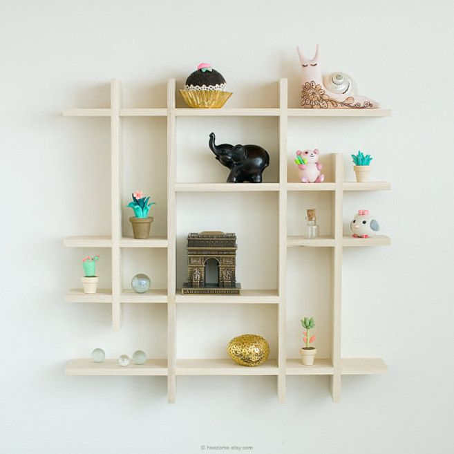 Shadow boxes for knock knacks - great idea for office - and 23 Borderline Genius Ways To Make Your Home Calm AF