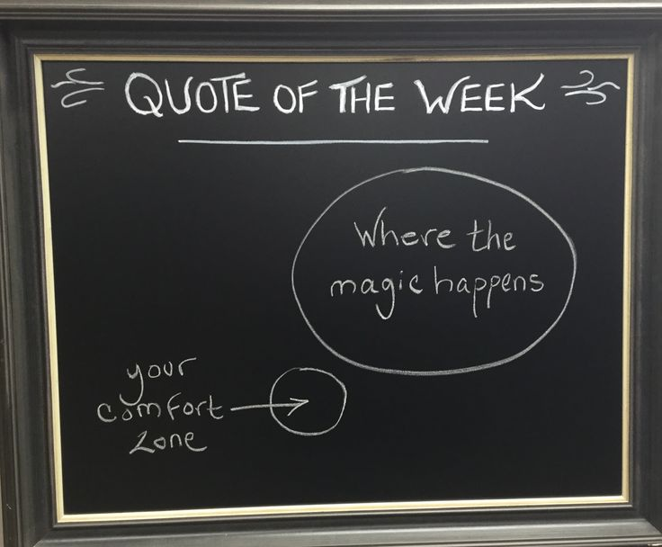Quote of the week here at Collab Space! Pushing yourself out of your comfort zone often leads to better things. #Motivation #Quote #Business #SmallBusiness #Ottawa