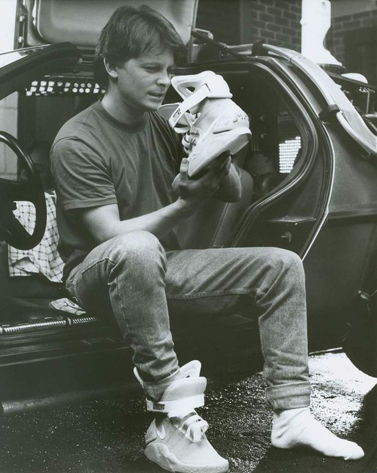 Image result for marty mcfly shoes