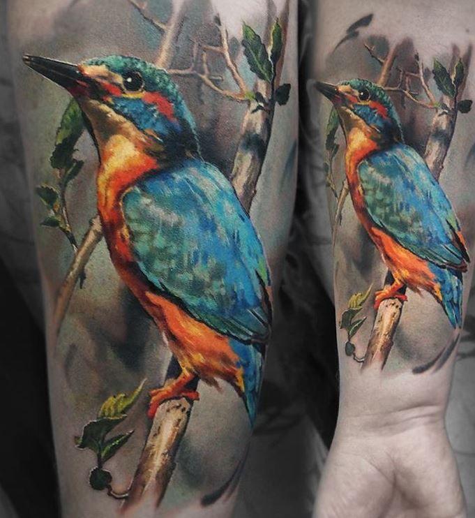 17 best ideas about realistic bird tattoo on pinterest for Realistic bird tattoo