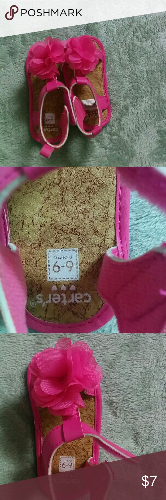 Carters baby shoes Baby princes shoes 6_9 months, gently used Carter's Shoes