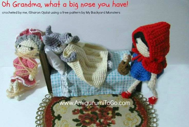 Little Red Riding Hood Free Pattern ~ Amigurumi To Go