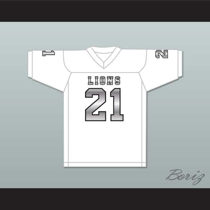 Ryan Lee 21 EMCC Lions White Alternate Football Jersey. STITCH SEWN GRAPHICS  CUSTOM BACK NAME CUSTOM BACK NUMBER ALL SIZES AVAILABLE SHIPPING TIME 3-5 WEEKS WITH ONLINE TRACKING NUMBER Be sure to compare your measurements with a jersey that already fits you. Please consider ordering a larger size, if you plan to wear protective sports equipment under the jersey. HOW TO CALCULATE CHEST SIZE: Width of your Chest plus Width of your Back plus 4 to 6 inches to account for space for a loose fit…