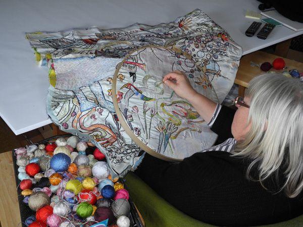 Anna Torma | Baie Verte, New Brunswick, Canada | Weekly Artist Fibre Interviews | Fibre Art | International | Canadian | World of Threads Fe...