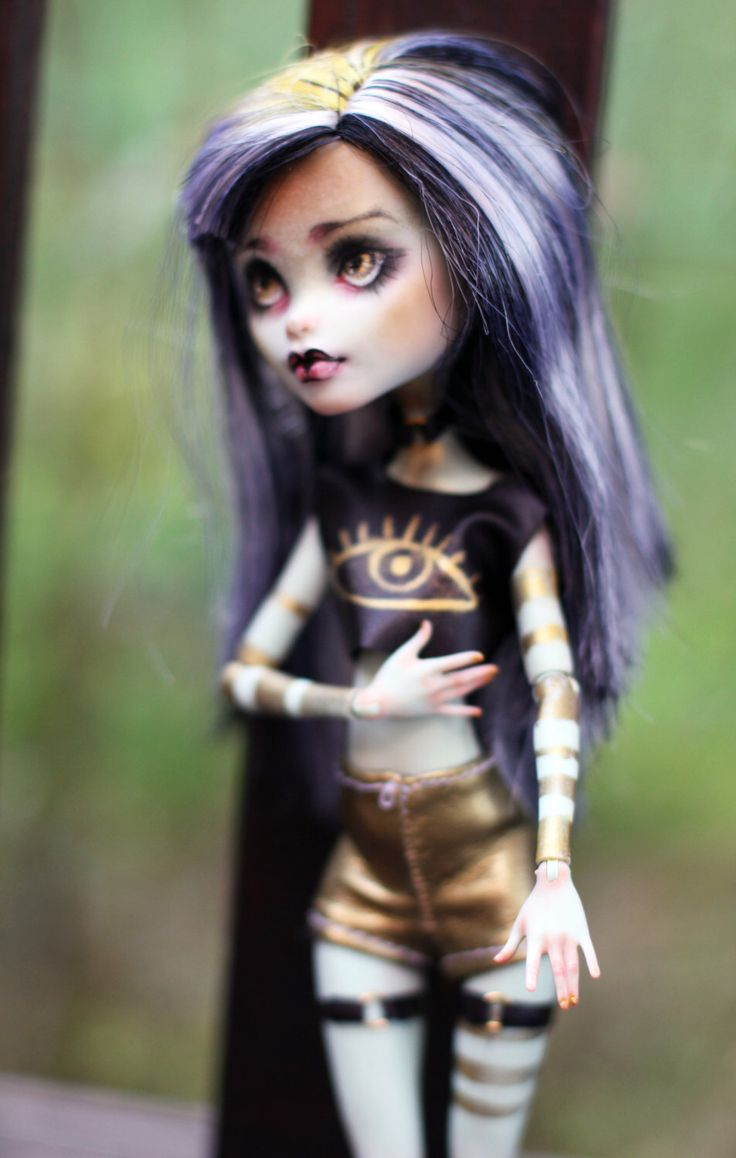 Monster High OOAK Frankie Stein repaint custom doll by SmileCustomCreations on Etsy https://www.etsy.com/listing/246159713/monster-high-ooak-frankie-stein-repaint