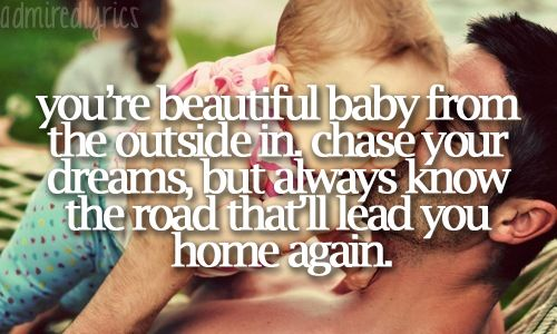 My Little Girl - Tim McGraw my dance with my dad at my wedding was to this song, he picked it out himself <3