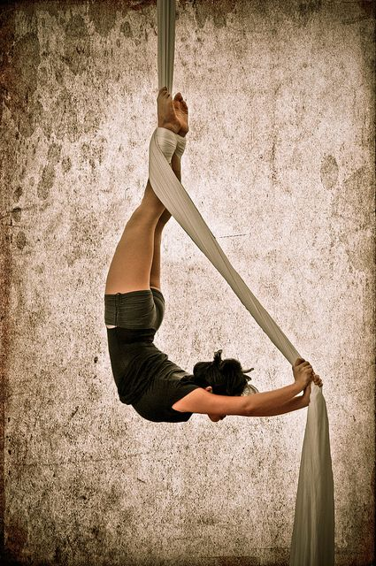 Aerial Silks. The New York Trapeze School. | Flickr - Photo Sharing!