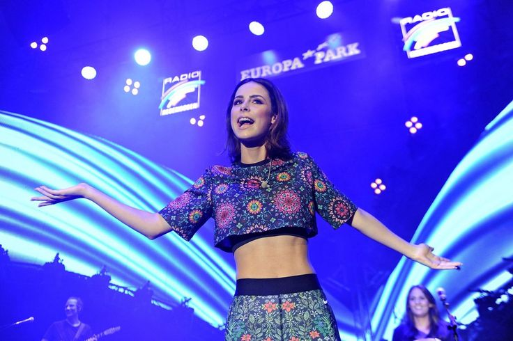 Image result for Lena Meyer-Landrut - Performing at a concert at Europa Park in Rust, Germany 6 Aug, 2016