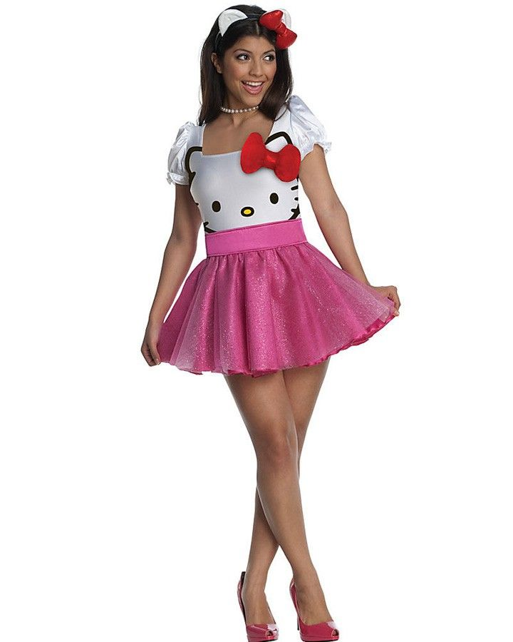 Classic Hello Kitty Womens Costume
