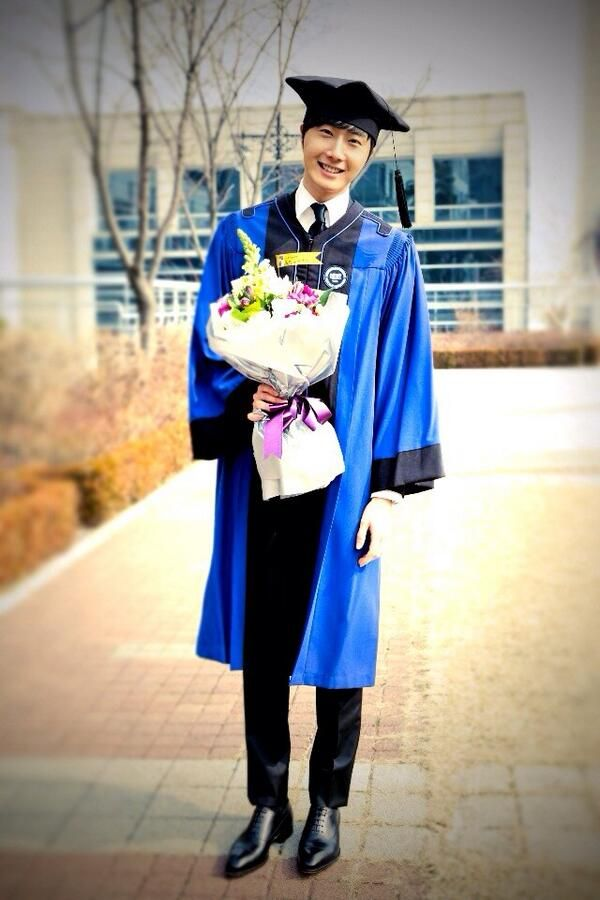 Il-Woo Hanyang University graduation ceremony 140220