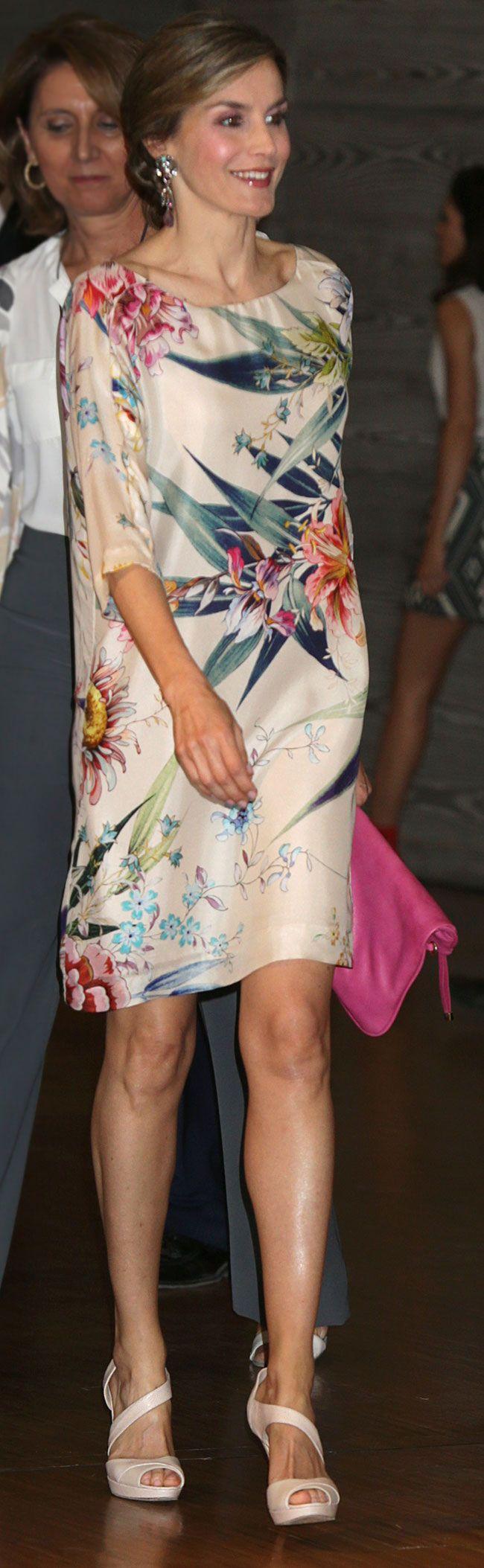 Queen Letizia attends National Fashion Awards 2015