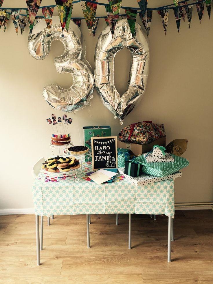 30th birthday table