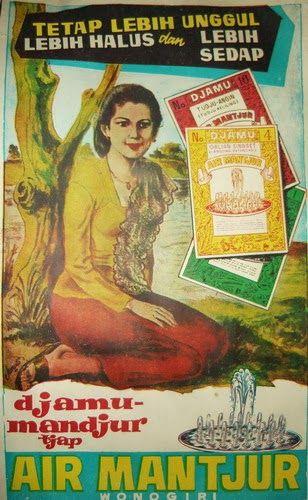 Kalender Djamu Mandjur tjap 'Air Mantjur' 1969