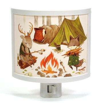 Camping Friends Night-Light, $22, now featured on Fab.