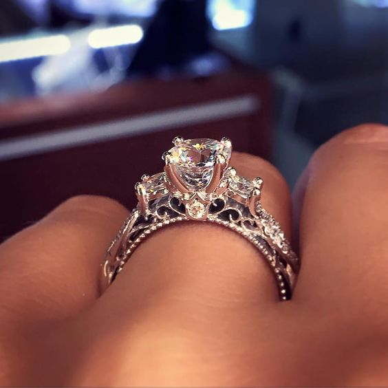 This Is the Most Popular Engagement Ring on Pinterest  - CountryLiving.com