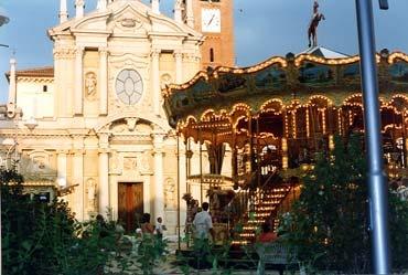 Childhood. Busto Arsizio, Italy