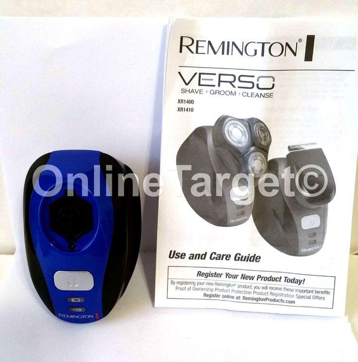 Remington XR1400 Men's Shaver Wet Dry Grooming Kit Handle Body ONLY OPEN*BOX #Remington#XR1400#shaver#handle#ebay#hira_trive