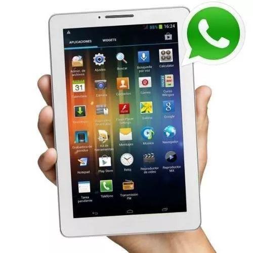 tablet 7 gps celular 3g dual sim bluetooth wifi liberada