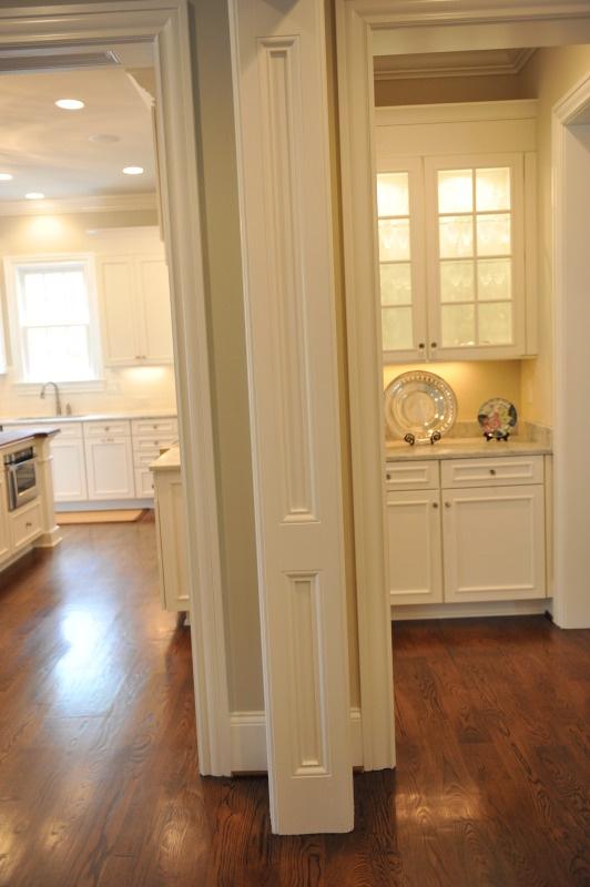 Panel Detailing In Doorway Openings Kitchen