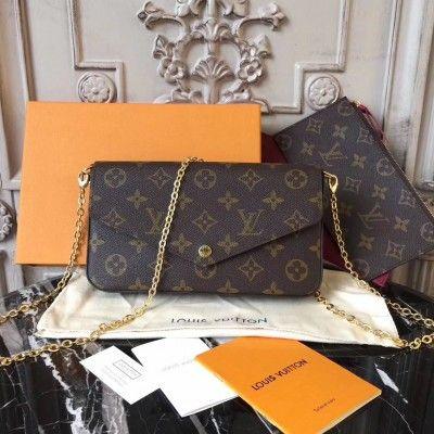 04b451641106 Louis Vuitton M61276 Pochette Felicie Monogram. Louis Vuitton M61276 Pochette  Felicie Monogram Purse Wallet