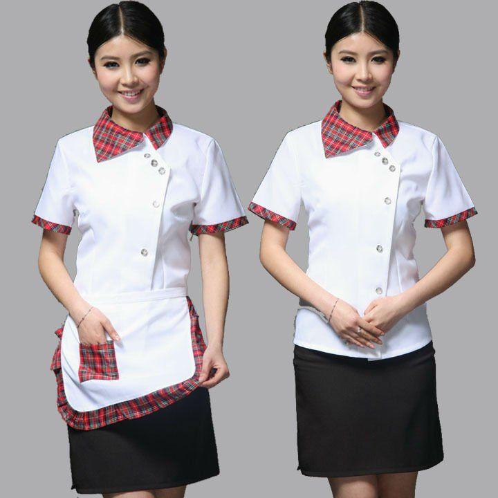 Restaurant uniform 5 12 uniform pinterest for Restaurant uniform shirts wholesale
