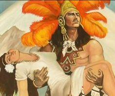 Esta leyenda nos cuenta la historia de un amor conformado por la princesa Iztaccíhuatl y el guerrero de su padre llamado Popocatépetl, él la amaba con locura, por eso el rey de la tribu le ordenó ir a una guerra y terminar con la vida del enemigo, algo que era totalmente imposible, pero si pudiera hacer este pedido su hija estaría libre para casarse con el amado, él regresó con lo que se le había encargado y todos celebraron aquel día.