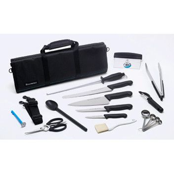 The Four Seasons 18 Piece Culinary Student Knife Set is the ultimate way to jumpstart a chef's career. Limited lifetime warranty. Free shipping available.