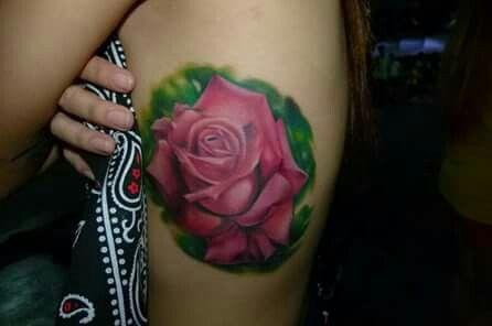 Old work #rose tattoo #tattoo