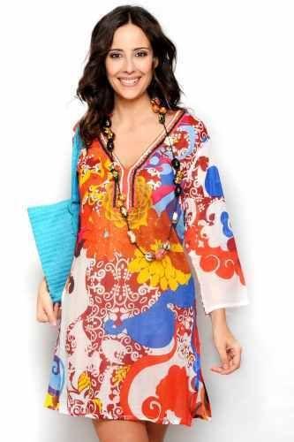 Tunika Energy - En härlig och glad tunika. Häftiga mönster och färger. Love it!