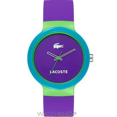 LACOSTE watch - I love the colors!