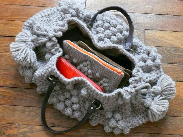 Beautiful Crochet Bags : Beautiful, Crocheted bags and Bags on Pinterest