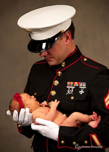 Newborn Photography, Infant Photography, Babies, Marines